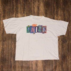 Vintage 90s Nickelodeon Snick T-shirt